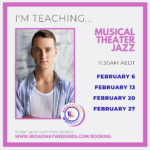 Joe Meldrum teaches for Broadway Weekends